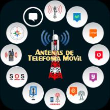 Antenas de Telefonía Móvil 2G, 3G, 4G y 5G ESPAÑA
