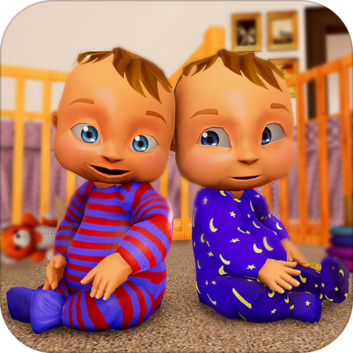 Real Mother Life Simulator- Baby Twins Care Games