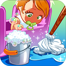 Baby Doll House Cleaning Game free 2019